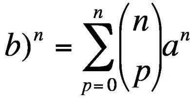Binome de Newton