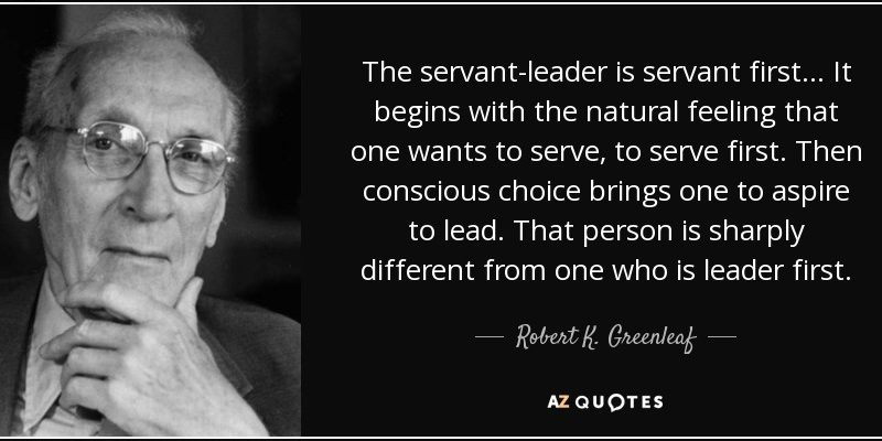 Servant Leadership : How to lead in the 21st Century Information (Digital) Age